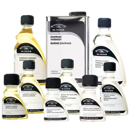 Winsor Newton Oil/Spray/Medium