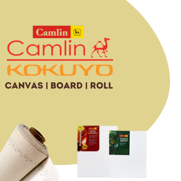 Camel Stretched Canvas | Canvas Board | Canvas Roll