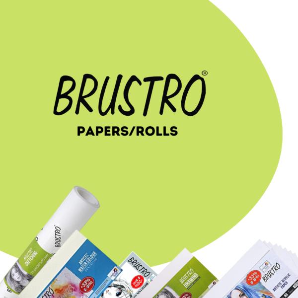 Brustro Papers   Rolls