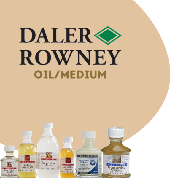 Daler Rowney Medium/Oil