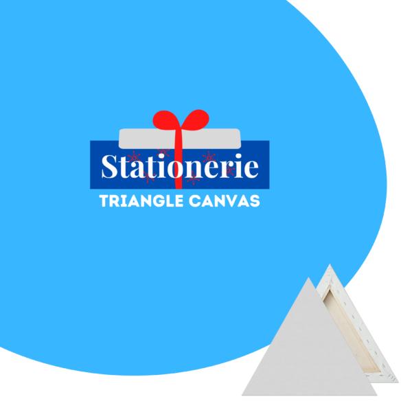 Stationerie Artists Triangular Canvas