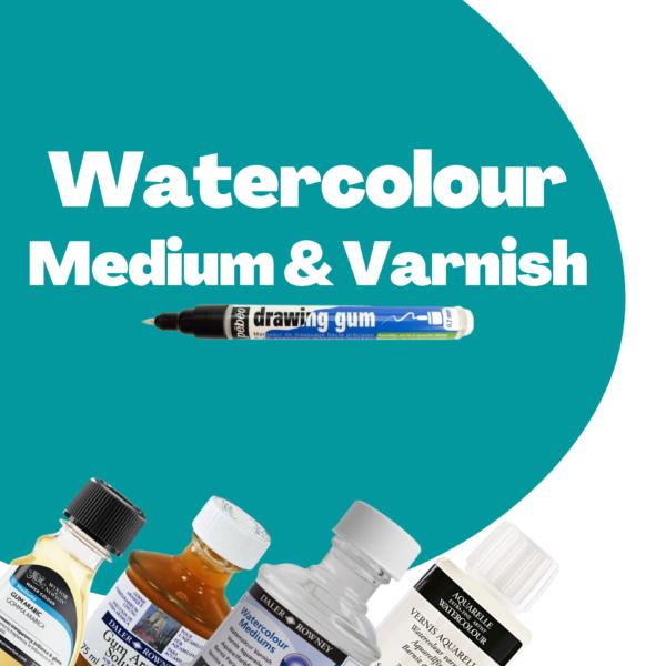 Watercolour Medium & Varnish