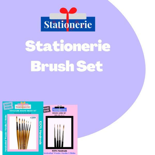 Stationerie Assorted Brush Set