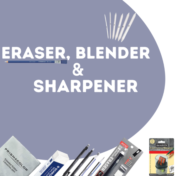 Eraser   Sharpener   Blender