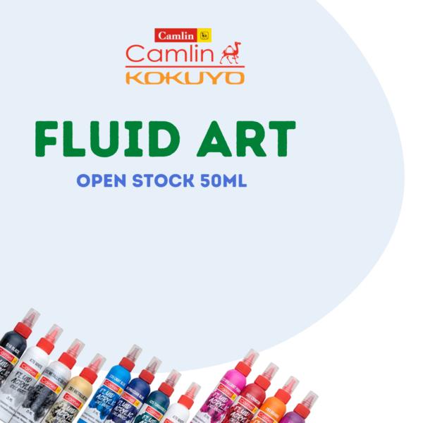 Camel Fluid Colour 50ml Open Stock